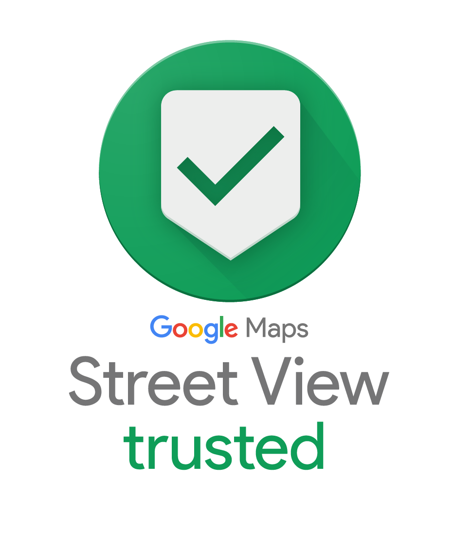 Google Maps Street View Trusted Badge